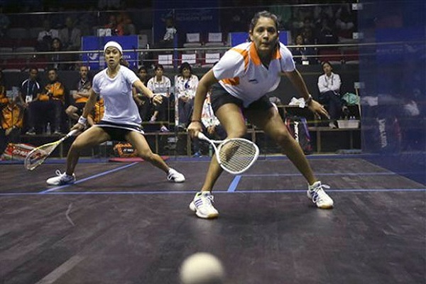 Women's squash team in gold medal match in Asian Games