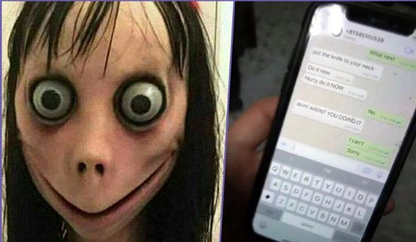 suicide game Momo Challenge :child hung self in lakhimpur kheri