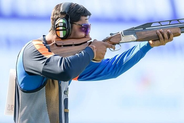 Ankur Mittal Men Double Trap Champion in hindi