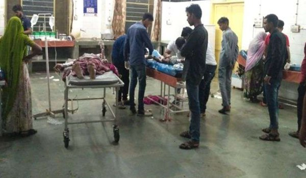 Nine of a family injured after gas cylinder blast in Chittorgarh