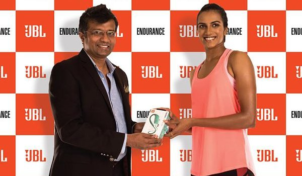 Harman International signs PV Sindhu as ambassador for JBL earphone in india