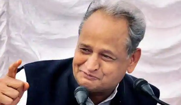 Former chief minister Ashok Gehlot