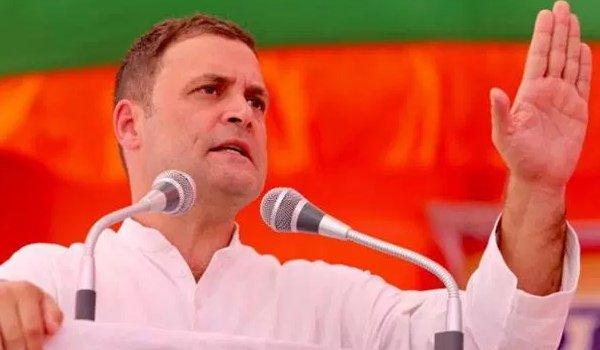 sankalp maha rally : rahul gandhi addressing public gathering in sikar