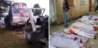 ten Chhattisgarh pilgrims killed in odisha road accident