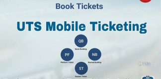 Railway starts untransfer ticket facility on smart phones with UTS app