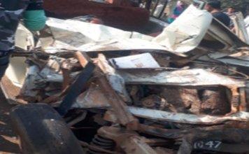 madhya pradesh : 7 school children among 8 killed in satna road accident
