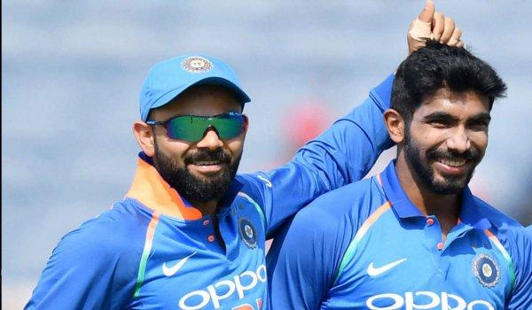 ICC rankings : virat kohli and jasprit bumrah remain on top of ODI table