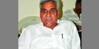Congress mla Sunderlal Tiwari says RSS is symbol of terrorism