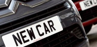 All new vehicles to come with high security number plates from April 2019