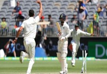 India target of 287 runs in ind v aus 2nd test match