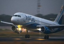 Indigo air filled in smoke emergency landing in Kolkata