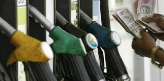 Petrol and diesel prices continue to fall on monday