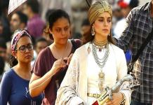 Kangna used 150 years of weapon used in Manikarnika