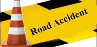 Four people died in road accident in Shahjahanpur