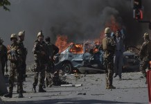18 killed in car bombs special forces in Afghanistan