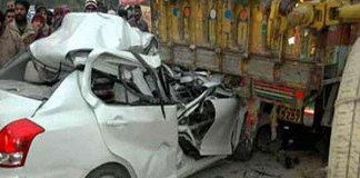 Five persons killed in road accident in Odisha's Kendrapara