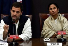 Rahul Gandhi's support for Mamata Banerjee campaign