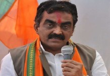 Rakesh Singh blame congress on mp law and order