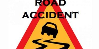 Three youths die in road accident in Lucknow-Bahraich road in Bahraich