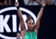 Serena Williams ousts number one Simon Halep in Australian Open quarterfinals