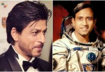 Shah Rukh Khan did not leave Rakesh Sharma's biopic