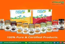 High Quality Organic Food Items Trusted Retail Store 'Health 24x7