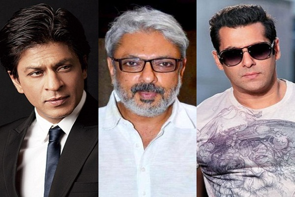 Bhansali will make movie about Shah Rukh and Salman
