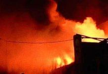 Three of family killed in house fire in haryana