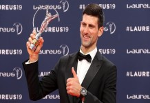Novak Djokovic won Laureus World Games for fourth time