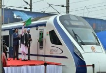 PM Modi flagged off the Vande Bharat Express