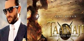 Saif Ali Khan will take special training for Tanaji movie