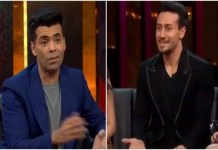 Tiger Shroff says not comparing anyone except Hrithik Roshan in Coffee with Karan Show