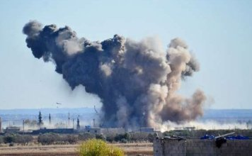 70 civilians dead in US led airstrikes in Syria