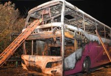 26 Killed, 28 Injured As Bus Catches Fire On Highway In China