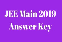 JEE Main 2019: How to calculate potential score with JEE Main answer key