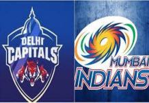 Delhi Capitals and Mumbai Indians HighVoltage match at Kotla ground