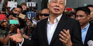 Najib Razak again hearing on corruption charges