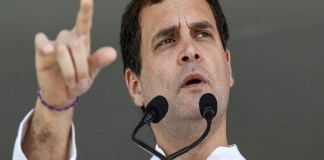 Rahul Gandhi target of Modi watchman for rech person In Telangana