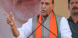 Rajnath Singh Warning Stop help of terrorists from Pakistan's land
