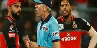 umpire Nigel Long broke mirror in umpires room after controversy with Virat Kohli