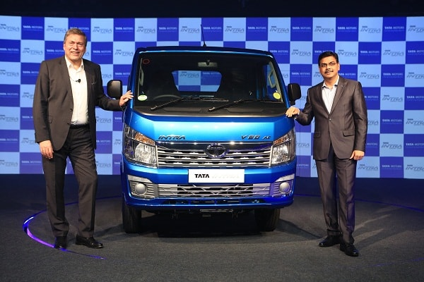Tata Motors launches India's first compact truck 'Tata Intra'