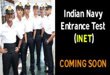 Indian Navy Entrance Test Examination