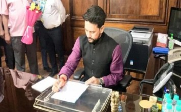 Anurag Thakur says appropriate funds will be given for development of Himachal