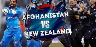New Zealand v Afghanistan in ICC World Cup 2019