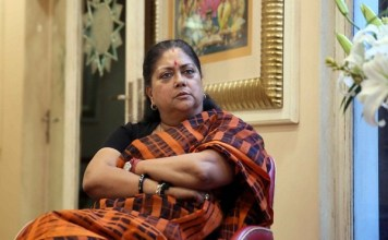 Vasundhara Raje says Daughters afraid to get out of house under Congress rule