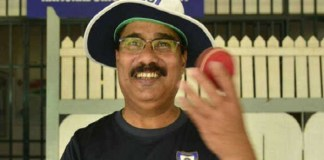 Narendra Hirwani, the spin coach associated with the national women's cricket team