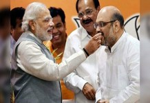 After the decision to remove Article 370, people celebrate Diwali-Holi together in Modi-Shah's home state