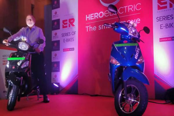 hero electric launched optima er and nyx er e scooters