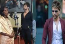 himesh reshammiya recorded first song of kolkatta railway station lady ranu mandal