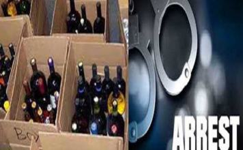 870 cases of liquor recovered in UP Deoria, three arrested